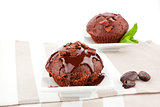 Delicious luxurious muffins.