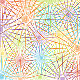 Christmas snowflakes pattern background