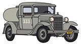 Vintage tank truck
