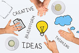 Creative ideas collage