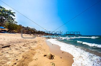Beautiful beach on koh Samui. Thailand