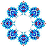artistic ottoman pattern series fourty fifty