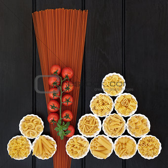 Tomato Spaghetti and Italian Pasta
