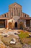 Venice Italy Torcello Church of Santa Fosca