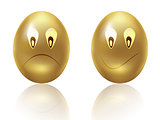 Sad gold eggs