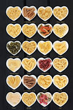 Italian Pasta with Titles
