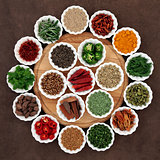Herb and Spice Platter