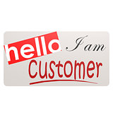 Card I am customer