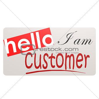 Card I am customer
