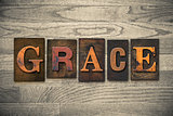 Grace Concept Wooden Letterpress Type
