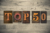 Top 50 Concept Wooden Letterpress Type