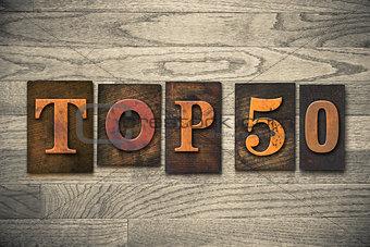 Top 50 Concept Wooden Letterpress Type