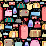 bright pattern of bags