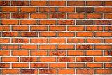 Orange Brick Wall Pattern Texture