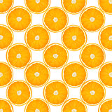 Background with citrus-fruit of orange slices. Close-up. Studio