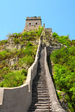 Great wall near Beijing, China