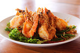 Fried Shrimp with tamarind sauce 2