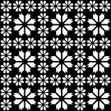 Black - white seamless pattern