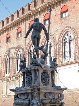 Fountain of Neptune  Bologna Italy