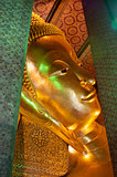 The head of Reclining Buddha