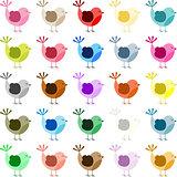Multiple Colored Bird