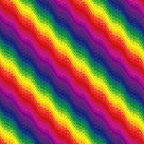 Multicolor ornamental seamless pattern