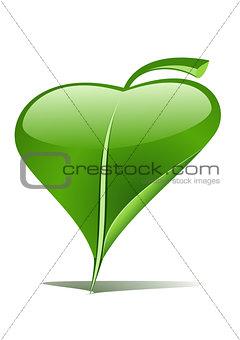 Green leaf pointer