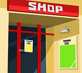 Shop facade