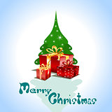 Christmas greeting Card.