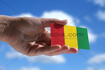 Small Reggae music flag