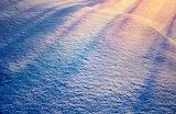 Beautiful snowy background