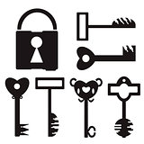 Key Set And Lock