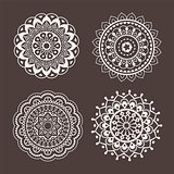 Lace ornaments, stencils