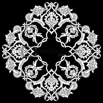 artistic ottoman pattern series fifty three version