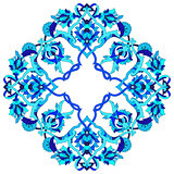 artistic ottoman pattern series fifty three