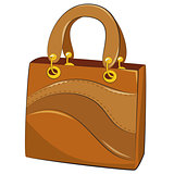 handbags. Vector illustration on white background