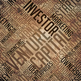Venture Capital - Grunge Brown Word Collage.