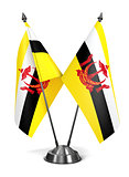Brunei - Miniature Flags.