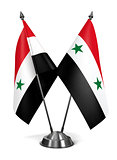 Syria - Miniature Flags.