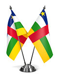 Central African Republic - Miniature Flags.