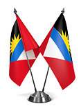Antigua and Barbuda - Miniature Flags.