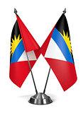 Antigua and Barbuda - Miniature Flags.