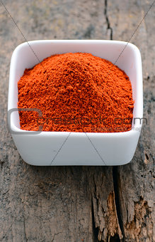 Powdered red pepper