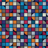 Abstract mosaic seamless background.