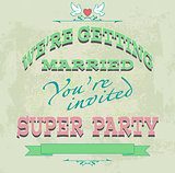 marriage invited color