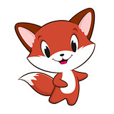 Cartoon Baby Fox