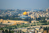 Panorama in Jerusalem