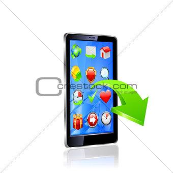 Smart phone. Original design