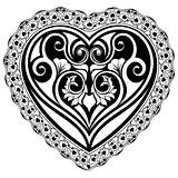 Valentines Day tatto heart