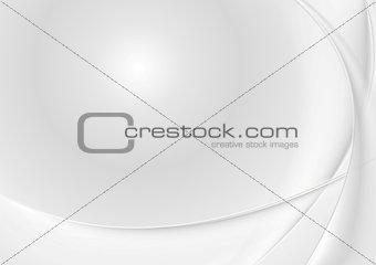 Abstract grey pearl waves